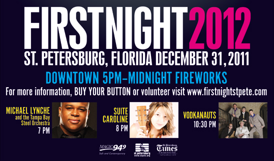 Video – First Night St. Pete with Michael Lynche