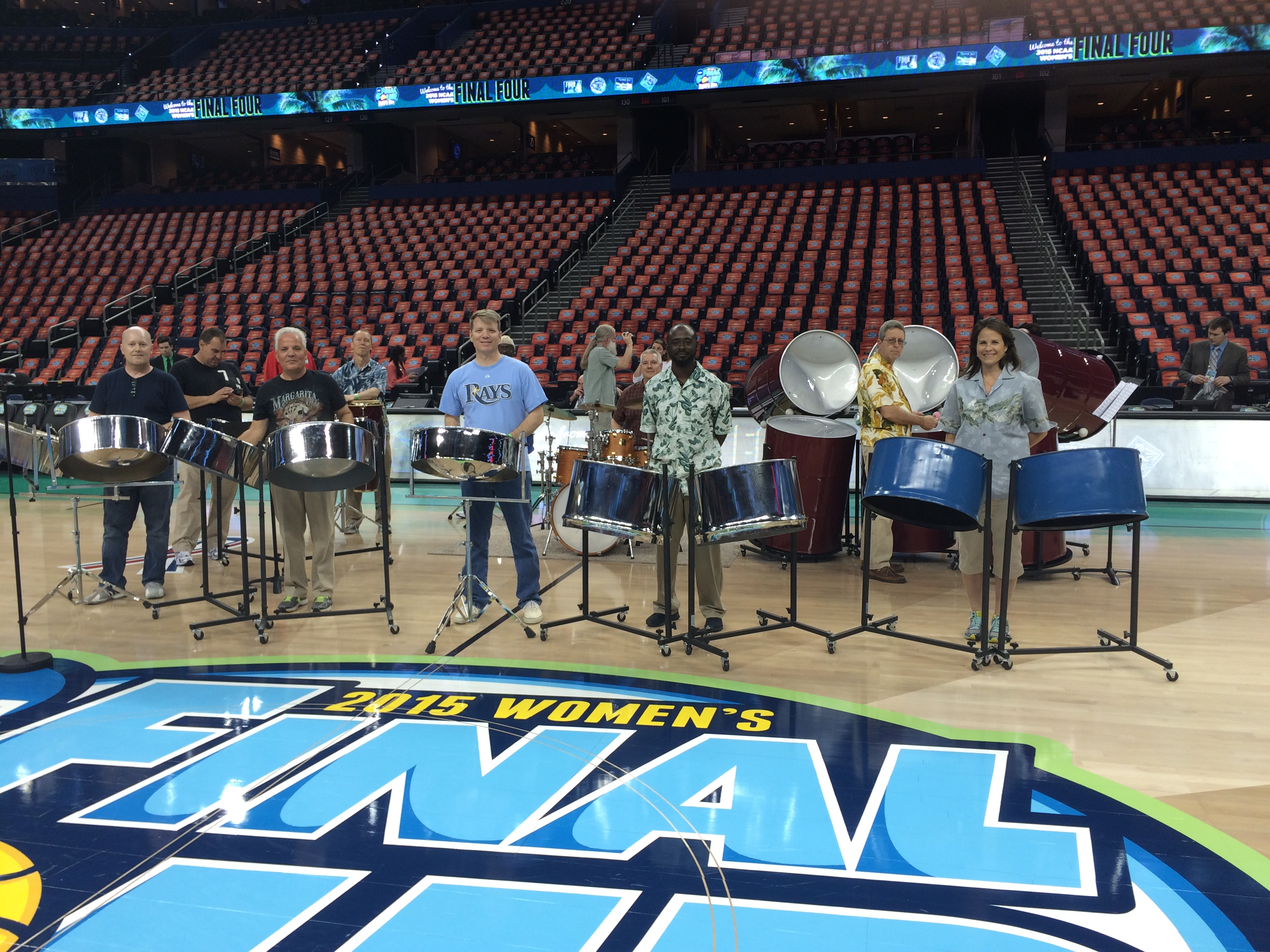 Tampa Bay Steel Orchestra NCAA Halftime Show